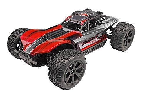 Redcat Racing Blackout XBE Elektrischer Buggy mit wasserdichter Elektronik Fahrzeug (1/10 Skala), Rot