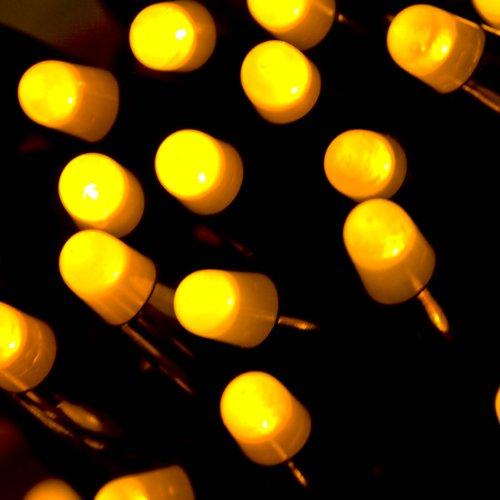 prilux–String Plus 12MTS 180LEDs Gelbe Kabel gelb 1Abschnitt