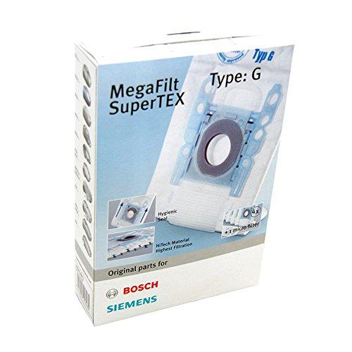 Siemens VZ41AFG Filterbeutel MegaFilt SuperTEX, Typ G