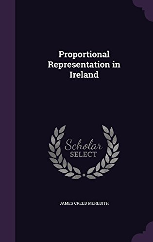 Proportional Representation in Ireland