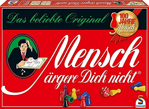Schmidt Spiele 49021 – Mensch ärgere Dich nicht Standardausgabe