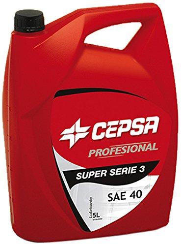 CEPSA 528353072 Mineralöl für schwere Diesel-Motoren S.SERIE 3 SAE 40, 5 Liter