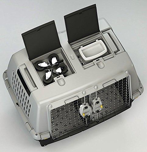 Kerbl 81340 Gulliver Touring IATA Transportbox, 80 x 58 x 62 cm, grau