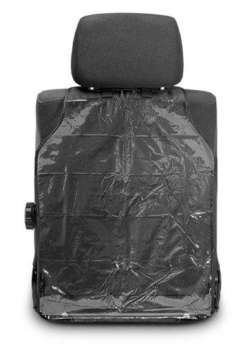 Reer 74506 Schutzfolie, Zuverlässiger Schutz vor Schmutz und Abnutzung der Rückseite von Fahrer – und Beifahrersitz im Auto
