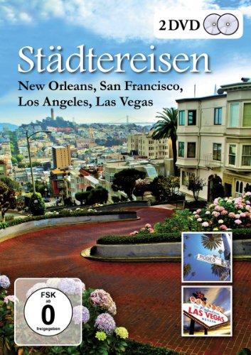Städtereisen - New Orleans, San Francisco, Los Angeles, Las Vegas [2 DVDs]