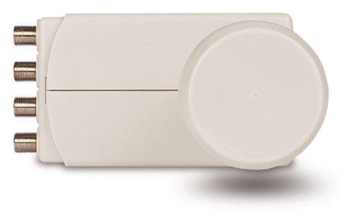 TechniSat Universal-Quattro-LNB mit 40mm Feedaufnahme (nur für den Multischalter gebrauch)
