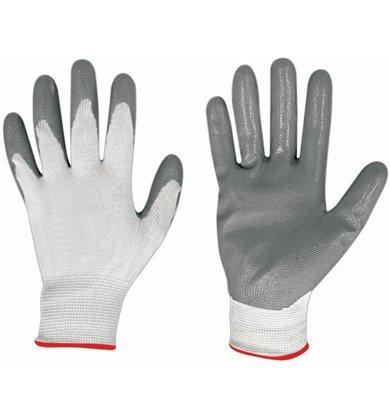 Handschuhe Nitril/Nylon Gute im Bereich mechanisch, Industrie, Baugewerbe, Landwirtschaft, Verarbeitung Laminat und Automobil.