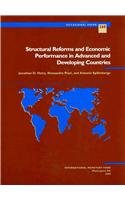 Structural Reforms and Economic Performance in Advanced and Developing Countries: IMF Occasional Paper #268 (International Monetary Fund Occasional Paper)