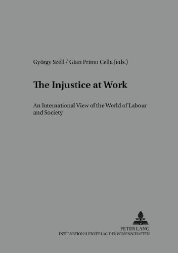 The Injustice at Work: An International View on the World of Labour and Society (Arbeit - Technik - Organisation - Soziales / Work - Technology - Organization - Society)