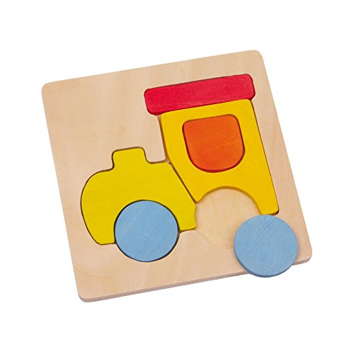 Small Foot Company 2677 – Puzzle Transportmittel, 4-er Set