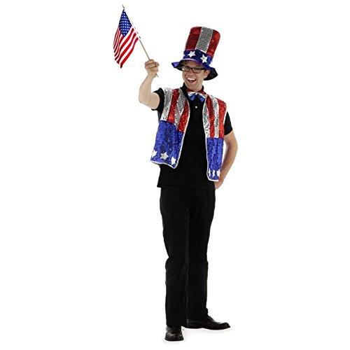 Folat 21976 Vereinigte Staaten von Amerika Kleidung Set Erwachsene, One Size