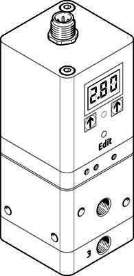 Festo 567540vppe-3–1/8–6-420-e1t proportional-pressure Regulator