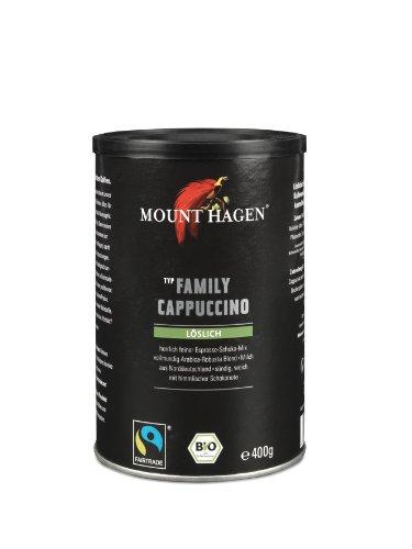 Mount Hagen Family Cappuccino, 3er Pack (3 x 400 g) - Bio