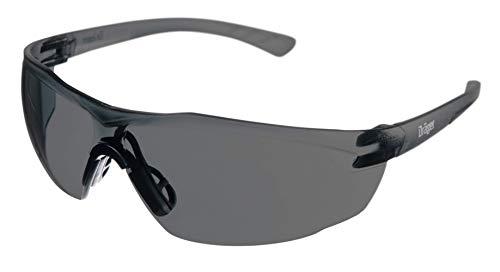 Dräger Schutzbrille X-pect 8321 | Leichte Sicherheitsbrille mit großem Sichtfeld | Für Baustelle, Werkstatt, Fahrrad-Fahren, Joggen | Getönt und beschlagfrei | 1 St.