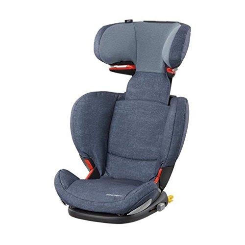 Bébé Confort RodiFix AirProtect Autositz 15 36 kg, Gruppe 2/3 für Kinder von 3,5 bis 12 Jahren, Reclinierbar, Isofix Nomad Blue