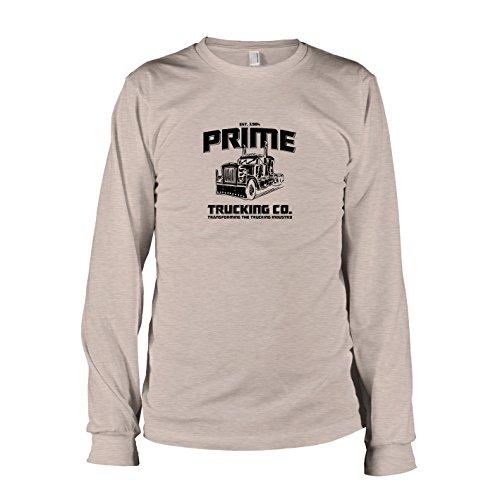 Texlab Prime Trucking - Herren Langarm T-Shirt Grau Meliert, XL