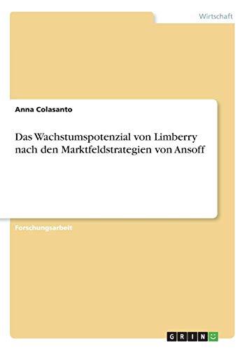 Das Wachstumspotenzial von Limberry nach den Marktfeldstrategien von Ansoff