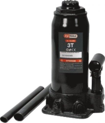 KS Tools 160.0351 Hydraulischer Flaschenwagenheber, 3 t