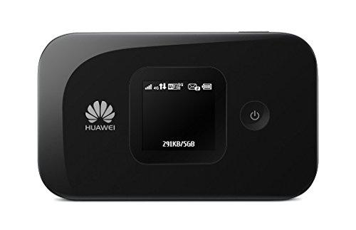 Freigegebenes Huawei E5577S-321 4G LTE 150mbps Mobile Wifi Gerät mit GROSSER 3000mAh Batterie (doppelte Kapazität der E5577C Version) - arbeitet mit jeder sim Karte weltweit
