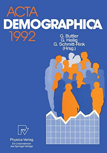 Acta Demographica 1992 (German and English Edition)