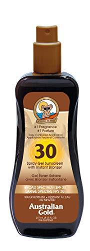Australian Gold Sonnenschutz Spray with Bronzer SPF 30 plus, 237 ml