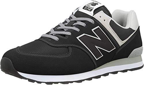 New Balance Herren 574v2 Core Sneaker, Schwarz (Black), 45.5 EU